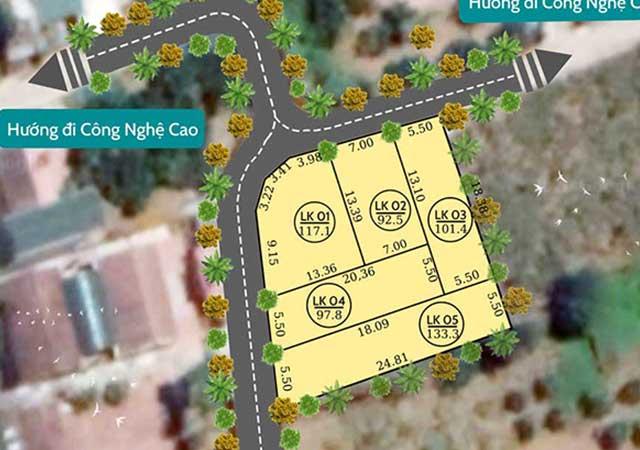 Đất nền Hòa Lạc 5 lô Phú Cát, Khu dân cư 5 sao nhà máy In Tiền