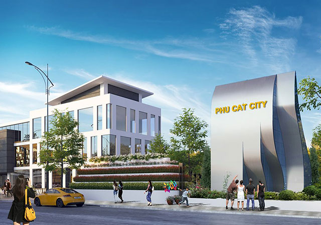 Khu đô thị Phú Cát City