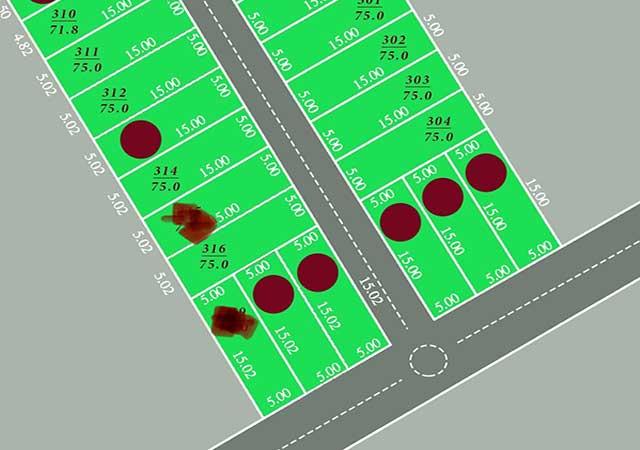 Khu đất phân lô sổ đỏ 24 lô Cánh Chủ SIÊU đẹp sát khu CNC Hòa Lạc