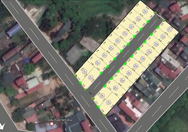 Mở bán 21 lô đất nền Cổ Đông, Sơn Tây, Hà Nội FULL thổ cư chỉ 700tr/1 lô