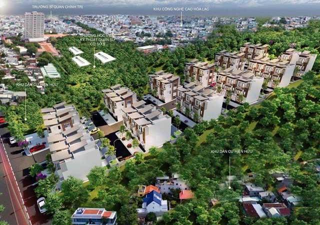 Hòa Lạc Charm Villas - Siêu Phẩm 36 Lô Đất Nền Xã Đông Xuân