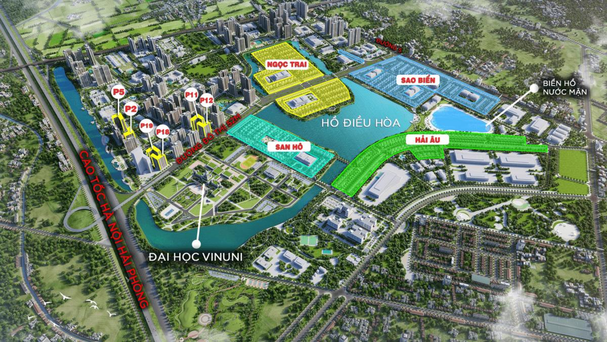 Mở bán biệt thự đơn lập Ngọc Trai 7-12, DT 302.7m2, hướng Đông Bắc 24,5ha 19 tỷ