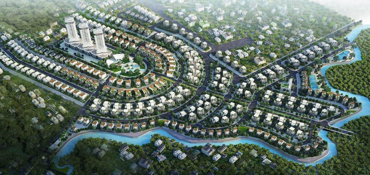 Mặt bằng khu đô thị Phú Cát City tại Hòa Lạc