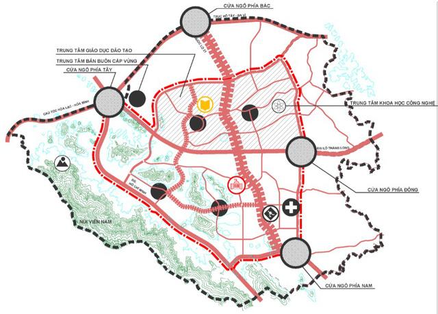 Động lực từ phát triển chuỗi đô thị vệ tinh ở Hà Nội