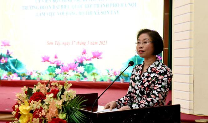 Hà Nội: Đề xuất tái thành lập Thành phố Sơn Tây