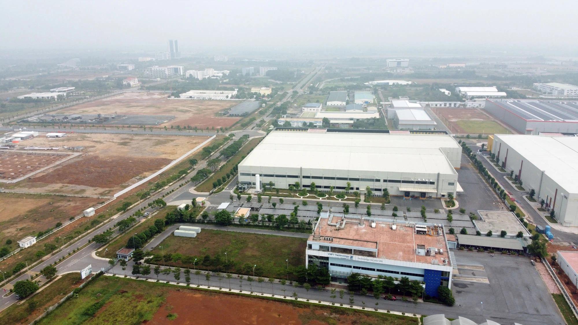 Vinaconex thu hút 10 nhà đầu tư hoạt động ổn định tại khu CNC 2, khu CNC Hoà Lạc