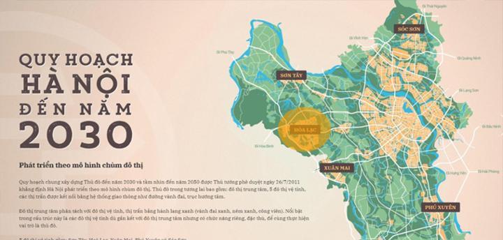 Hà Nội đẩy nhanh tiến độ lập quy hoạch phân khu đô thị thuộc 5 đô thị vệ tinh