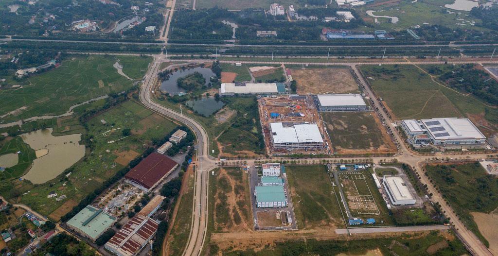 Nhà máy Vinsmart tại Hòa Lạc
