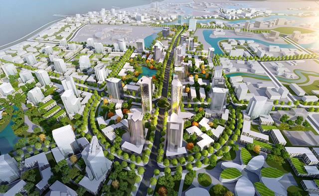 Phối cảnh dự án tại khu đô thị Hòa Lạc