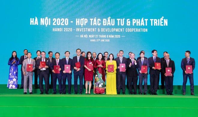 Tập đoàn Tân Hoàng Minh ký kết Biên bản ghi nhớ đầu tư 2 dự án quy mô gần 4 tỉ USD tại Hà Nội